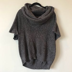 Mac & Jac Cowl Neck Short Sleeve Large Sweater, used for sale